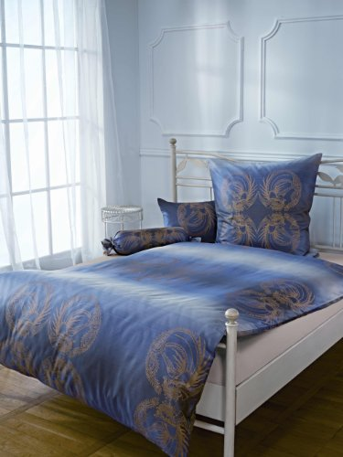 Bauer Paradise Bird Multicolored Damask Queen Duvet Cover Set