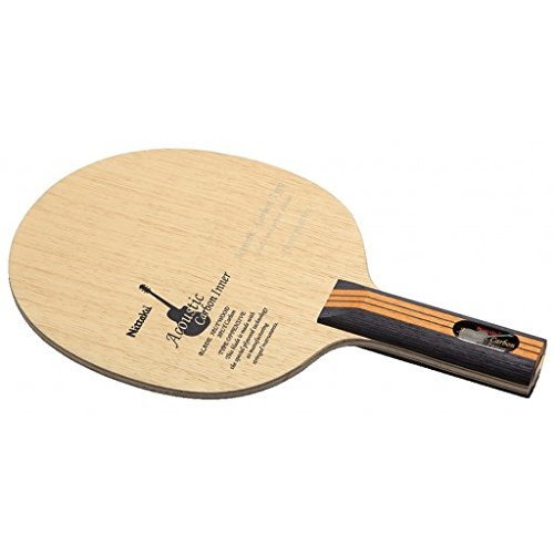 ニッタク(Nittaku) 卓球 ラケット アコーカーボンインナー シェークハンド 攻撃用 特殊素材入り ストレート  B00UWICTE0