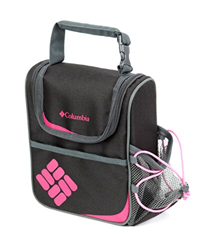 (Columbia Alpine Falls Lunch Pack with Bottle Holder, Pink)
