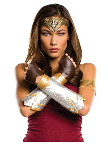 Rubie's Women's Wonder Woman Costume accessories, As Shown, Justice League -