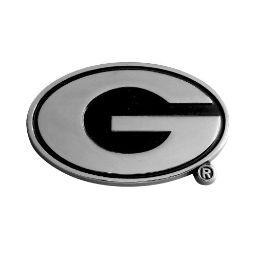 FANMATS NCAA University of Georgia Bulldogs Chrome Team Emblem by Fanmats