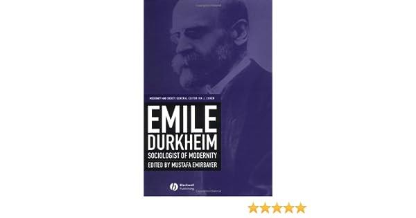 durkheim and modernity
