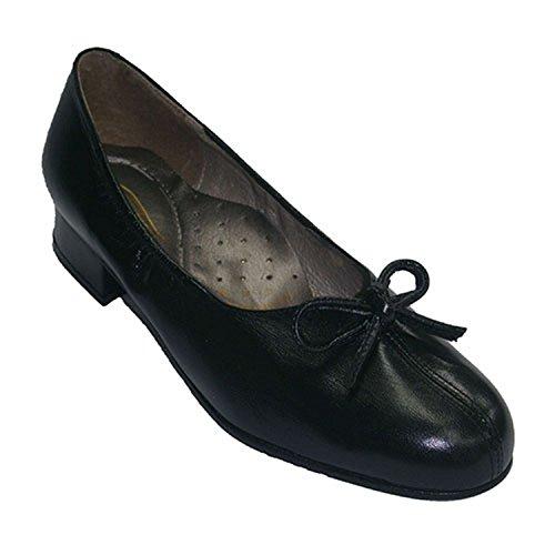 Roldan Noir Ouverture Larges Talon Une Cravate Extra Avec Chaussures Centre Au En qRq4fHw