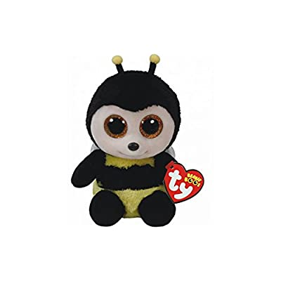 "Holland Plastics Original Brand TY Beanie Boos 6"" Buzby The Bee, Perfect Plush!: Toys & Games"