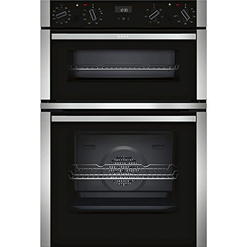 Neff U1ACE5HN0B Built-In A/B Rated Electric Double Oven in Black