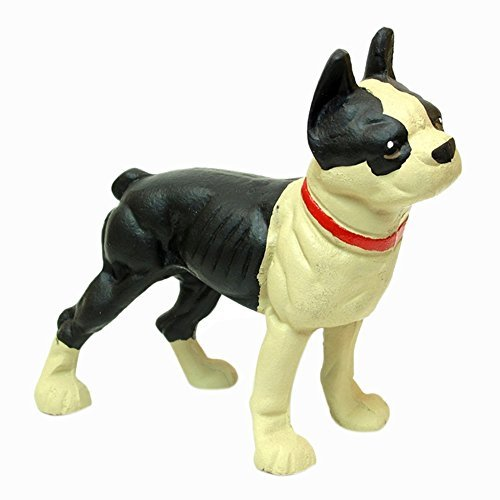 Iwgac Home Indoor Decorative Cast Iron Door Stop Bulldog Boston Terrier by IWGAC