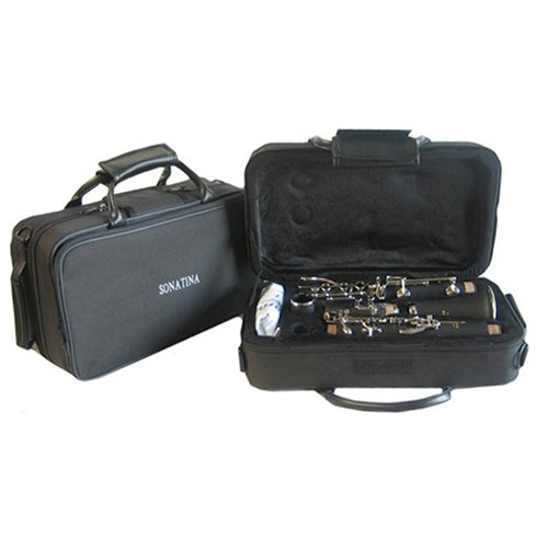 Hallelu HCL- 200 Clarinet W/case Nickel Plated Keys by Hallelu Music (Image #3)