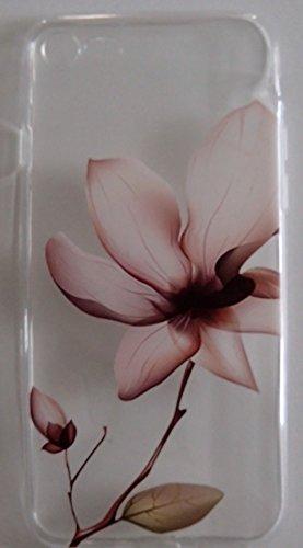 Coque iPhone 7 Fleur en silicone