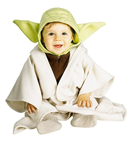 [Rubie's Costume Star Wars Complete Yoda, Multi, 12-24 Months Costume] (Tv Movie Childrens Costumes)