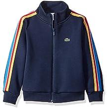 Lacoste Boy Zipped Athleisure High Collar Sweatshirt