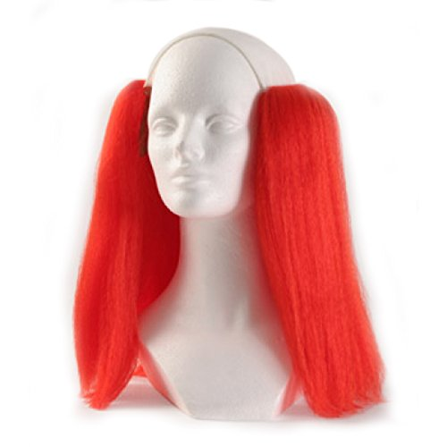 Bald Straight Clown Wig - Red]()
