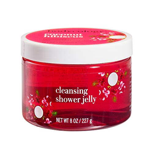 Bodycology Shower Jelly - Gentle Cleanser - Coconut Hibiscus - 8 oz