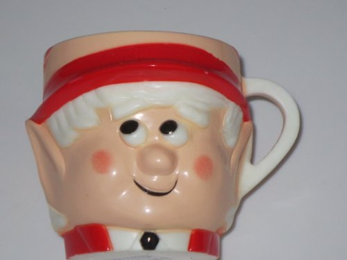 ADVERTISING COLLECTIBLE -- Ernie the Keebler Elf Drinking Cup -- New Old Stock c1974 (Ernie The Elf)
