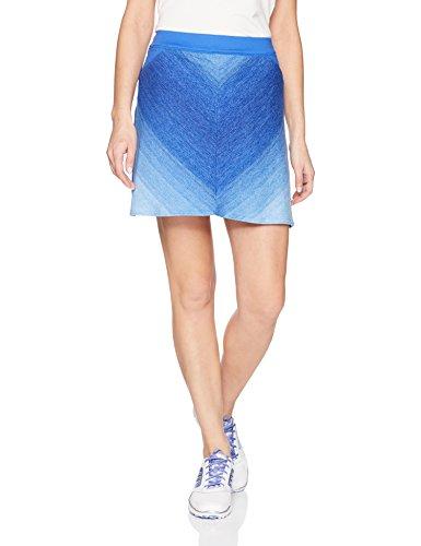 adidas Golf Women's Range wear A Line Skort, Hi-Res Blue, X-Small
