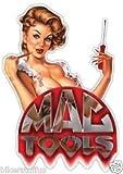MAC TOOLS BEAUTIFUL LADY BUMPER STICKER LAPTOP STICKER HARD HAT STICKER