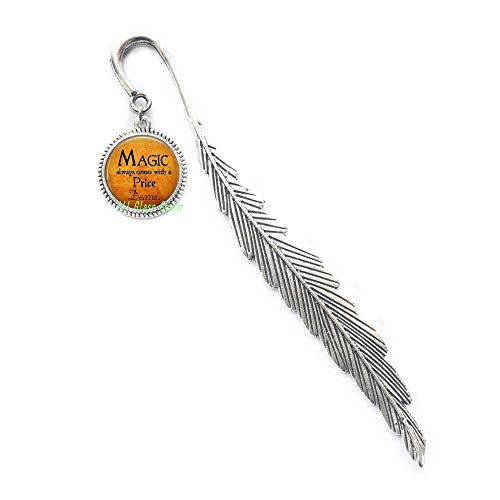 Halloween Costume Jewelry-Magic Always Comes with a Price Dearie-Quote-Magic Spell,AS098