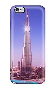 High-end Case Cover Protector For Iphone 6 Plus(world's Tallest Tower Burj Khalifa)