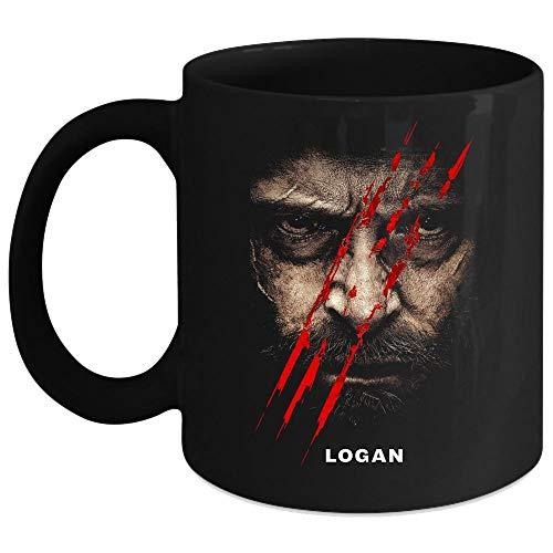 Wolverine Comics Cup, Wolverine Logan Mug (Coffee Mug 11 Oz - Black)