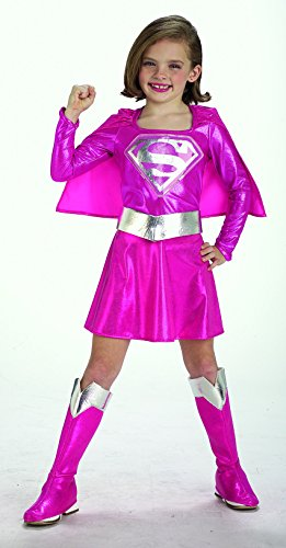 Rubie's Pink Supergirl Toddler/Child Costume