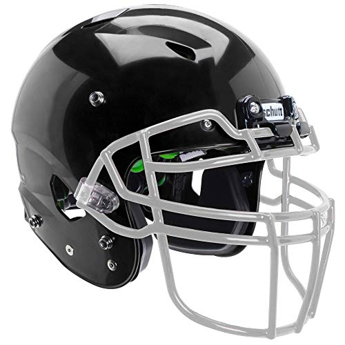 Schutt Sports Vengeance A3 Youth Football Helmet (Facemask NOT Included), Black, - Pads Helmets Football