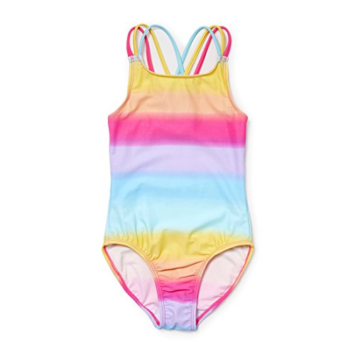 The Children's Place Big Girls' Rainbow 1pc, Sunshine, M (7/8) by The Children's Place
