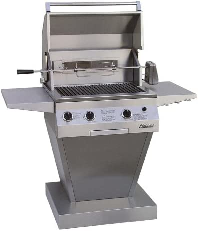 Solaire 27-Inch Deluxe Infrared Natural Gas Pedestal Grill
