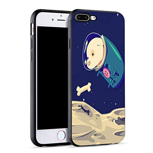 - Astronaut Spacecraft Clip Art Black Soft Phone Case for iPhone X 6 6S 7 8 Plus Cover,SJK2176012HB,for iPhone 7