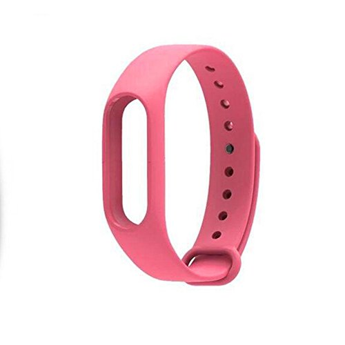 Cewaal Replacement Band TPU Wrist Strap for Xiaomi Mi Band 2 Smart Watch