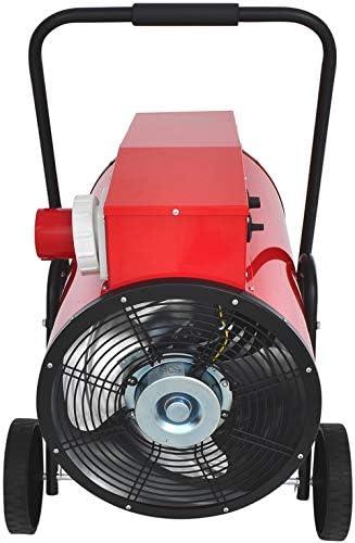 15 kW // 32 A Aktobis Bauheizer Elektroheizer Heizgebl/äse WDH-IFH15