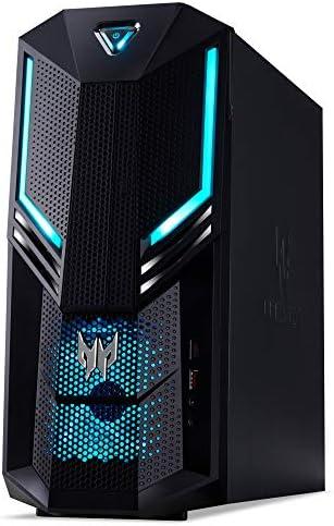 Acer Predator Orion 3000 Desktop Pc Schwarz Blau Computer Zubehör