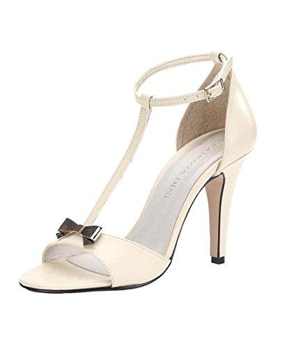 PATRIZIA DINI Damen-Schuhe Sandalette Weiß