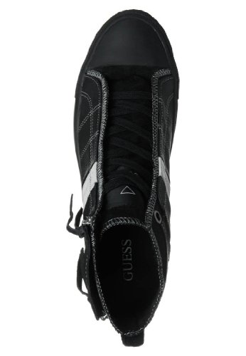alta BREAK in uomo FM4BEKLEA12 Guess pelle SNEAKERS e Modello Nero Scarpa sportiva tela qAYwXxwT