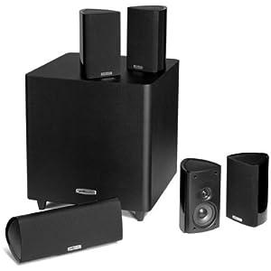 Polk Audio RM705 5.1 Home Theater System (Set of Six, Black)