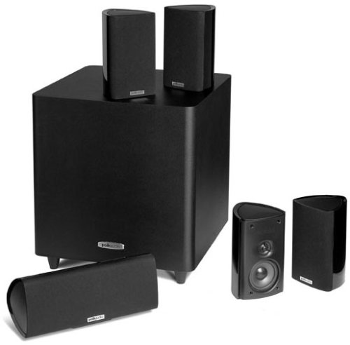 Polk Audio RM705 5.1 Home Theater System (Set of Six, Black) (Polk Audio Speakers Satellite)