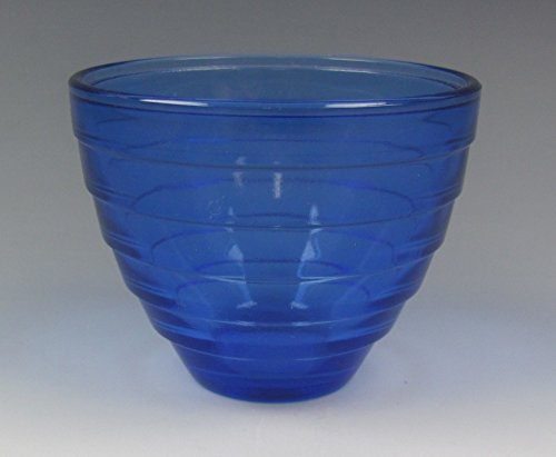 Hazel-Atlas Glassware MODERNTONE-COBALT BLUE Custard/Punch Cup(s) EXCELLENT