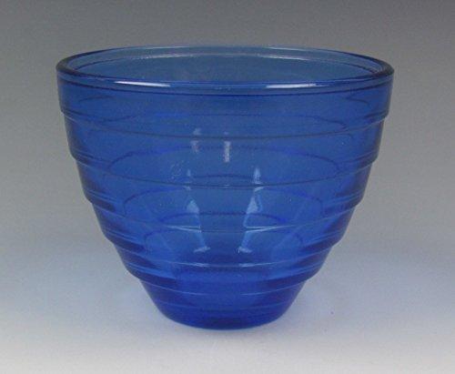 Glass Cobalt Depression (Hazel-Atlas Glassware MODERNTONE-COBALT BLUE Custard/Punch Cup(s) EXCELLENT)