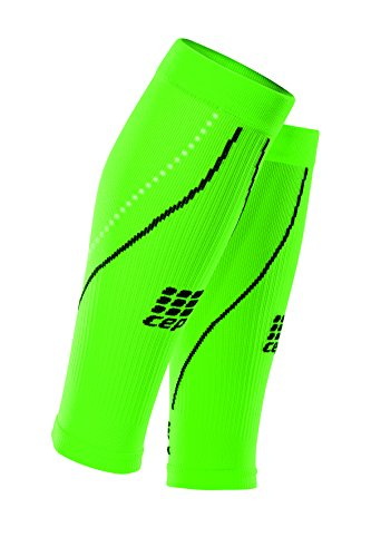 CEP Progressive+ Night Compression Calf Sleeves 2.0, Flash Green/Black, Women, Size - To Rates Germany Shipping