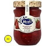Hero Ngx Strawberry Jam, 350 gm X 2