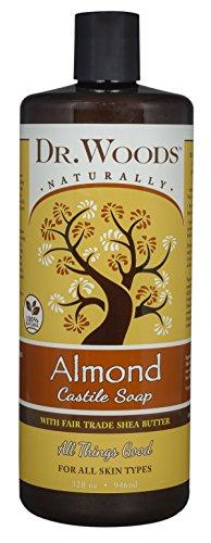Dr Woods Products Pure Almond Castile Soap with Organic Shea Butter 32 (Dr Woods Pure Almond Castile Soap)