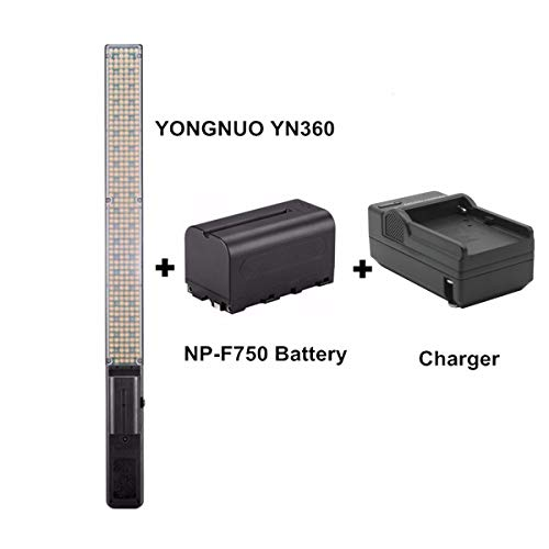 YONGNUO YN360 Handheld LED Video Light 3200K-5500K RBG