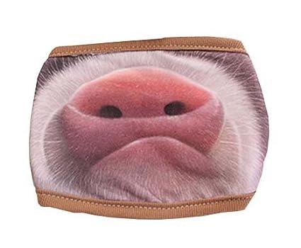 Black Temptation Creativa máscara a prueba de polvo Máscara Máscara Máscara Ciclismo algodón (nariz de