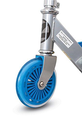 Zinc Bullit Folding Kick Scooter with Speedometer