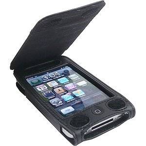 half off 5d0c9 3f22f Belkin Verve Folio Leather Verticle Case Fits At&t Apple Iphone 4/4s