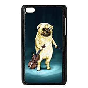 Pug Dog Personalized Custom Phone Case For IPod Touch 4 Hard Case Cover Skin
