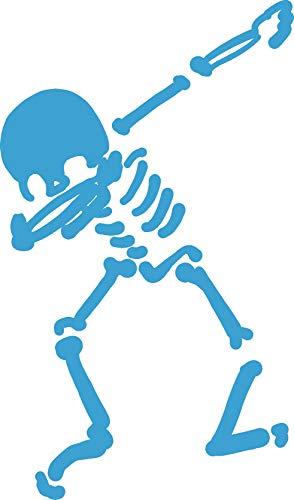 hBARSCI Skeleton Dabbing Vinyl Decal - 11 Inches