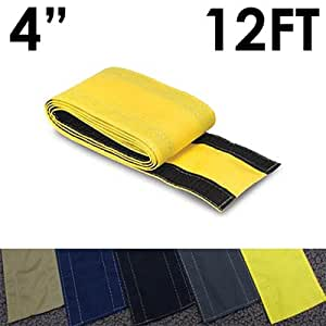 4 safcord carpet cord cover length 12ft color yellow electronics. Black Bedroom Furniture Sets. Home Design Ideas
