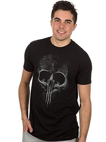 JINX Diablo III Men's Malthael Skull Premium Cotton T-Shirt (Black, Small)