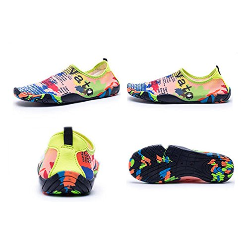 688 HooyFeel Water Multifunctional on Men Shoes Aqua for and Beach Women Quick Barefoot map Water Shoes Slip Dry pqrpEaw