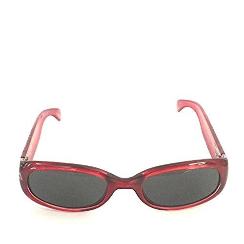Divine Selene Red - Smoke - Divine Sunglasses
