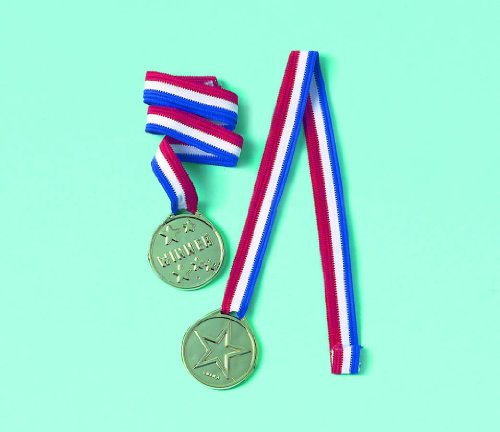 Factory Card and Party Outlet Award Medal Ribbons 12ct ()